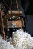 Tunt smörlager bort ullen Arkivbilder