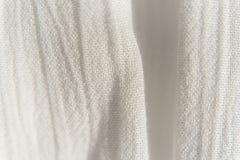 Tunt tyg för tygbakgrundstextur, med vertikal ojämn fol royaltyfri foto
