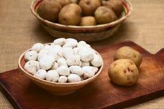 Tunta, Bolivian Dehydrated Potato Royalty Free Stock Images