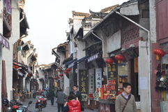 Tunxi old street Stock Photography
