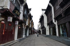 Tunxi old street Stock Photo