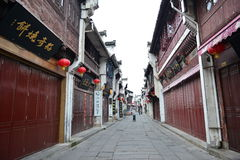 Tunxi old street Royalty Free Stock Image