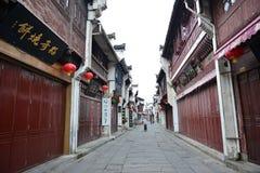 Tunxi oude straat Royalty-vrije Stock Afbeelding