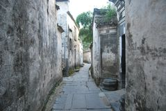 Tunxi-Stadt, Huangshan, Anhui, China Lizenzfreie Stockfotos