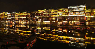 Tuojiang Night Stock Photography