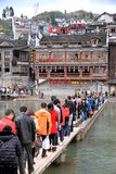 Tuojiang River in Fenghuang Stock Photo