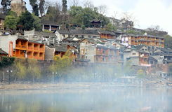 Tuojiang River in Fenghuang Stock Photos