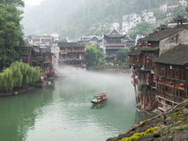Tuojiang river in Fenghuang, China Stock Photo