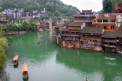 Tuojiang river in Fenghuang, China Stock Photos