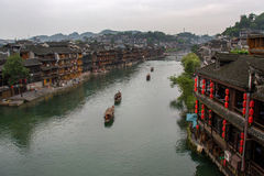 Tuojiang river in Fenghuang, China Stock Images