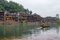 Tuojiang river in Fenghuang, China Royalty Free Stock Photos