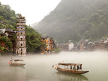 Free Tuojiang River In Fenghuang, China Royalty Free Stock Photography - 28513007