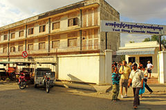 tuol sleng тюрьмы phnom penh Стоковое Изображение