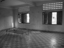 Room. Tuol Sleng Genocide Museum Royalty Free Stock Image