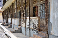 Tuol Sleng Genocide Museum,Phnom Penh, Cambodia Royalty Free Stock Photo