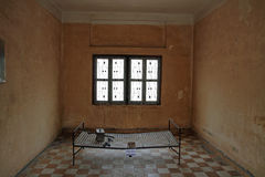 Tuol Sleng Genocide Museum in Phnom Penh Stock Photo