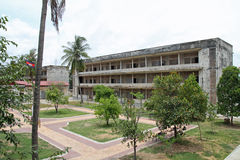 Tuol Sleng Genocide Museum in Phnom Penh. Cambodia Stock Photo