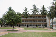 Tuol Sleng Genocide Museum in Phnom Penh. Cambodia Stock Image