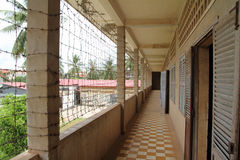 Tuol Sleng Genocide Museum in Phnom Penh. Cambodia Royalty Free Stock Photography