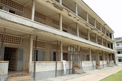 Tuol Sleng Genocide Museum in Phnom Penh Stock Photography