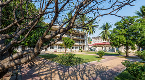 Tuol Sleng / 21 Genocide Museum, Phnom Penh, Cambodia Royalty Free Stock Images