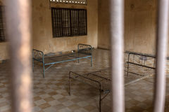 Tuol Sleng Genocide Museum in Phnom Penh Stock Images