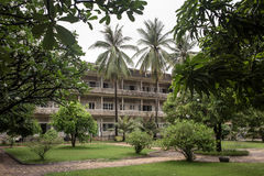 Tuol Sleng Genocide Museum in Phnom Penh Royalty Free Stock Photos
