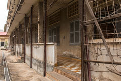 Tuol Sleng Genocide Museum in Phnom Penh, Cambodia Stock Photography