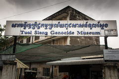 Tuol Sleng Genocide Museum in Phnom Penh, Cambodia Stock Photo