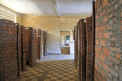 Tuol Sleng Genocide Museum, Phnom Penh, Cambodia Royalty Free Stock Image