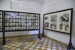 Tuol Sleng Genocide Museum, Phnom Penh, Cambodia Royalty Free Stock Photo