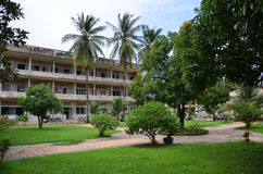 Tuol Sleng Genocide Museum in Phnom Penh, Cambodia Stock Photos