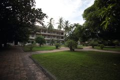 Tuol Sleng Genocide Museum Stock Photos