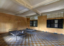 Tuol Sleng Genocide Museum Stock Image