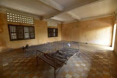 Tuol Sleng Genocide Museum Royalty Free Stock Photography