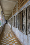 Tuol Sleng Genocide Museum at Phnom Penh Royalty Free Stock Image