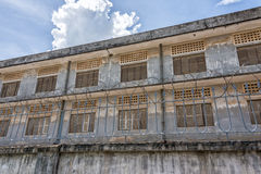 Tuol Sleng Genocide Museum at Phnom Penh Stock Images