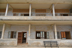 Tuol Sleng Genocide Museum (S-21) Stock Images