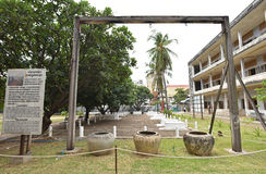 Tuol Sleng Genocide Museum (S-21) Stock Photography