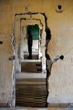 Tuol Sleng ludobójstwa muzeum, Phnom Penh, Kambodża Zdjęcie Royalty Free
