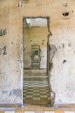 Tuol Sleng ludobójstwa muzeum przy Phnom Penh Zdjęcia Stock