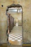 Tuol Sleng ludobójstwa muzeum przy Phnom Penh Zdjęcie Royalty Free
