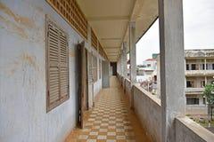 Tuol Sleng ludobójstwa muzeum (S-21) Obraz Royalty Free