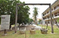 Tuol Sleng ludobójstwa muzeum (S-21) Fotografia Stock