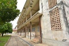 Tuol Sleng ludobójstwa muzeum (S-21) Obrazy Royalty Free