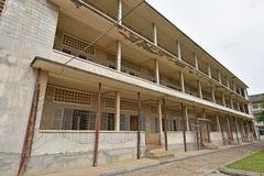 Tuol Sleng ludobójstwa muzeum (S-21) Obrazy Stock