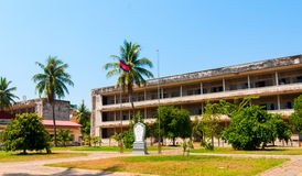 Tuol Sleng Prison Royalty Free Stock Photo