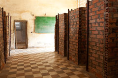 Tuol Sleng prison Phnom Penh Royalty Free Stock Images