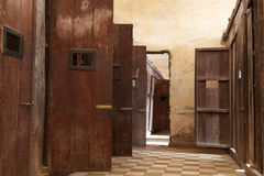 Tuol Sleng prison Phnom Penh Royalty Free Stock Photography