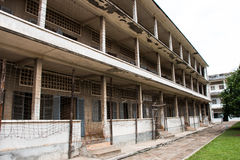 Tuol sleng prisson Royalty Free Stock Photos
